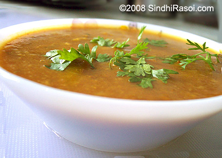 Special dhal