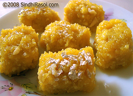 Singhar jhi mithai(sev ki mithai)