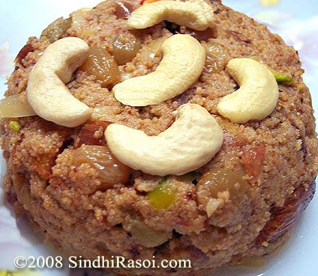 Khas Khas jo seero(poppy seeds dessert)
