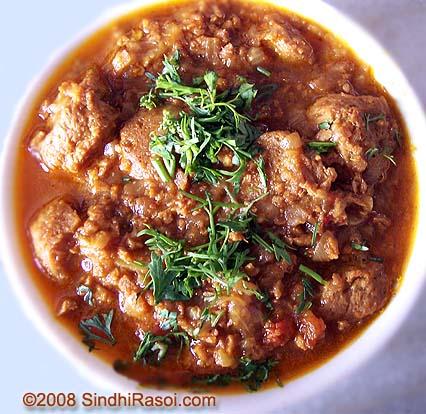 soyabean in gravy