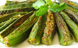stuffed okra _dhaas bhindi