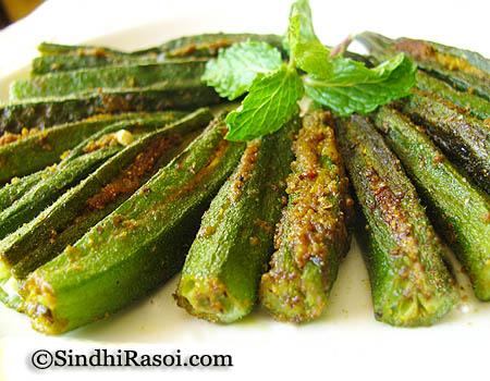 stuffed okra _dhaas bhindi