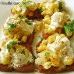 Bread chaat