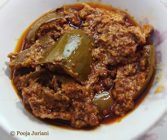 Raw mango pickle, Sindhi Pickle