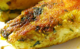 Stuffed kachalu or Arbi