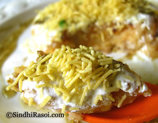 healthy alu tikki chaat
