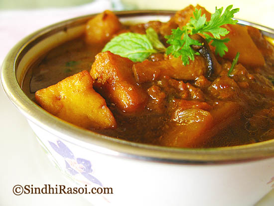TVP_potato_mushroom_paneer curry