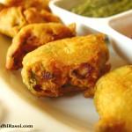 Sanna Pakora, double fried fritters