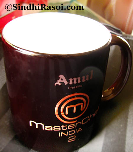 Thermal changing Mug from Amsterchef India season 2