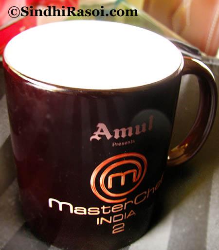 Thermal changing Mug from Amsterchef India season 2