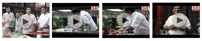 Videos of CookOff challenge at masterchef India2