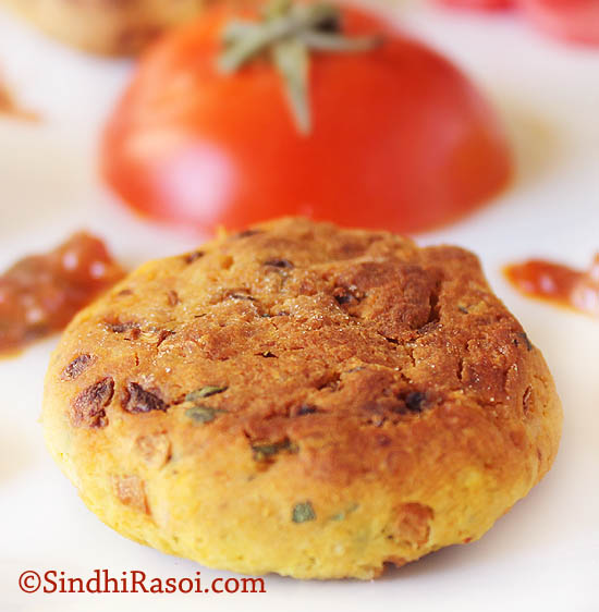 Dal tikkibaked patty from leftover dal baked snacks dal tikki forumfinder Images