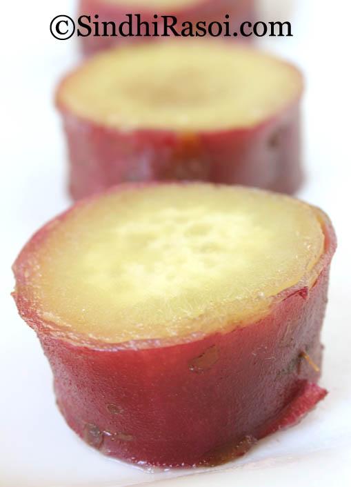 lahori gajar sweet potato