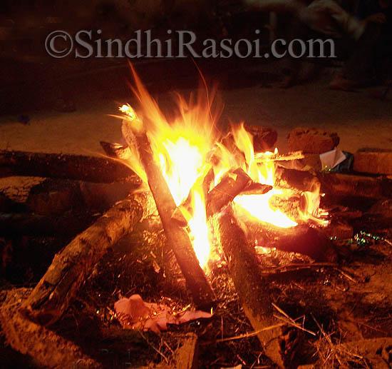 lohri, festival of bonfire