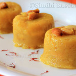 Rava kesari or semolina pudding