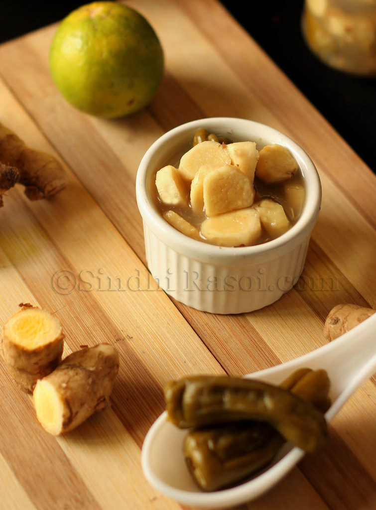 Mango Ginger pickle
