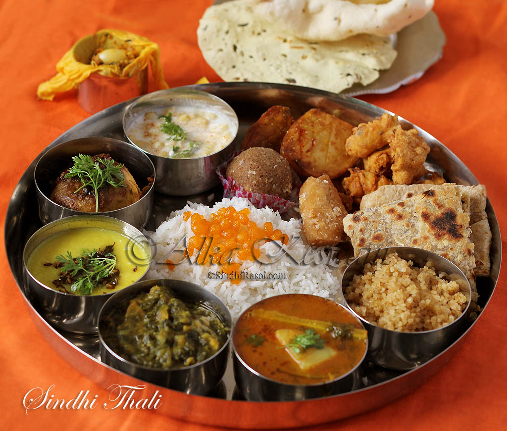 12 awesome sindhi food combinations that you must try indian food thali forumfinder Choice Image